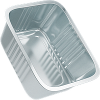 Контейнеры из алюминиевой фольги (маленький), SP 15L