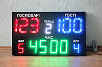 Табло для спорта, спортивное табло светодиодное 1000х600мм