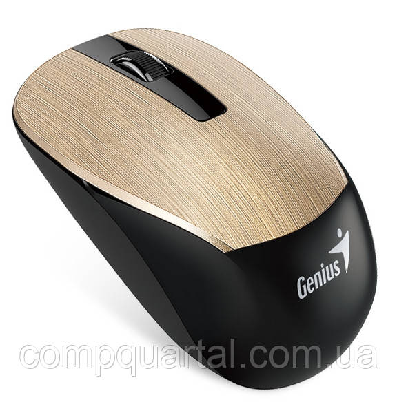 Мишка Genius Wireless NX-7015 Gold (31030119103) бездротова, USB