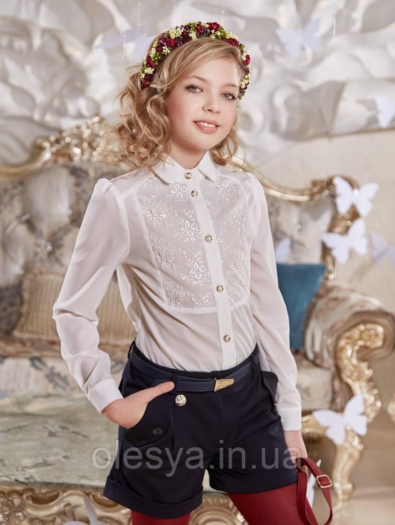 65731fc600bb22c Блуза Чарли Suzie школьная нарядная на девочку Размеры 116 122 ...