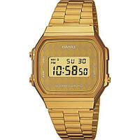 Мужские часы классика в цифре CASIO A168WG-9BWEF