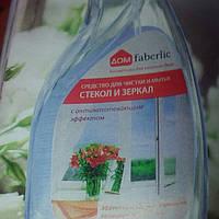 Средство для чистки и мытья  стекол и зеркал с антизапотевающим  эффектом faberlic, 500 ml