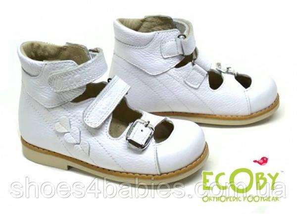 Туфли ортопедические Ecoby 108W размеры 20 - 32 под заказ