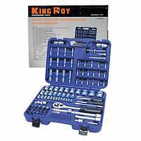 Набор инструмента 94пр. (1/2 и 1/4)  KING ROY, фото 1