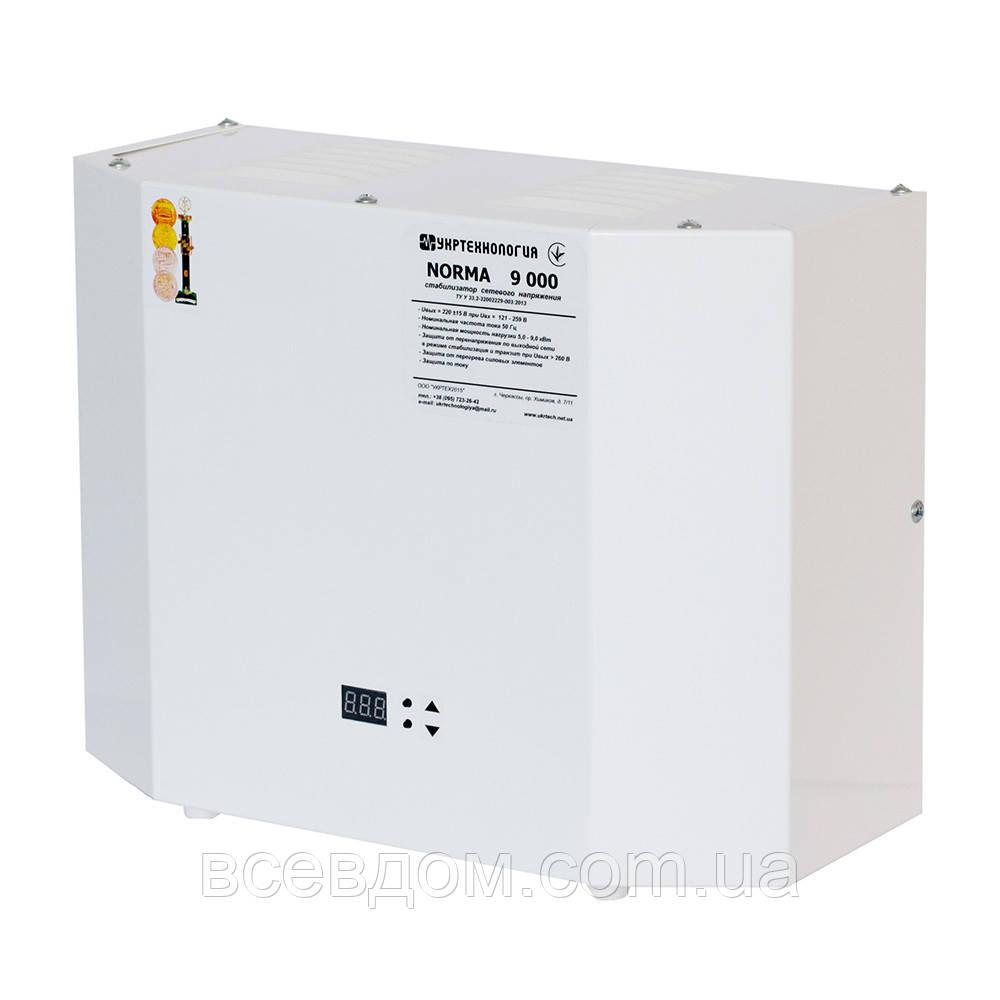 Стабилизатор напряжения Укртехнология серия Norma 15000 (15 кВт)