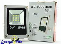 Прожектор 10W SLIM SMD белый/холодный, 01300295