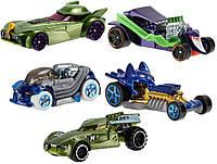 Набор из 5 машинок-героев Бэтмен Hot Wheels , фото 1