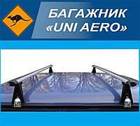"""Багажник """"UNI AERO"""" на водосток, поперечины 140см"""