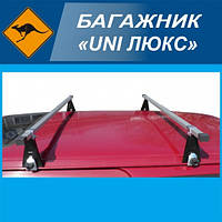 "Багажник ""UNI Люкс"" на водосток, поперечины 130см"