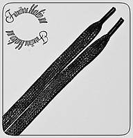 Шнурок пропитка плоский широкий 8мм)  длина 1м