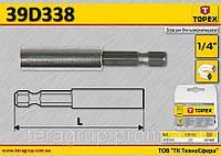 Держатель насадок магнитный 1/4'',  TOPEX  39D338