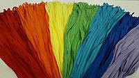 Молния пластик. NYLON не разьемная потайная 2 мм синий ИНДИГО 60 см