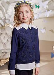 Блуза Одри Suzie школьная нарядная на девочку Размеры 116 134