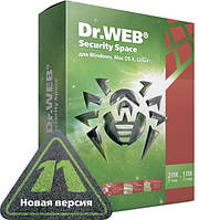 Антивирус Dr. Web Security Space 11 (2ПК / 24 мес)