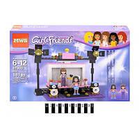 "Конструктор Girl Friends (Френдс) 81900 ""Сцена"", 181 дет"