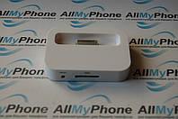 Док станция для мобильного телефона Apple iPhone 4G / 4GS white