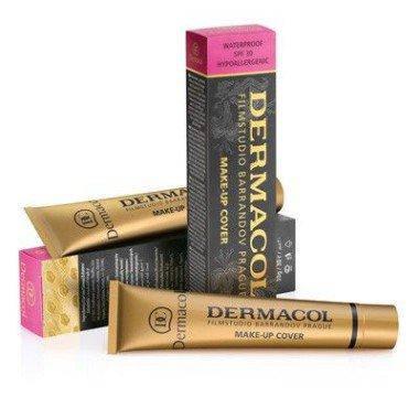 Тональный крем DERMACOL Make-Up Cover, 212 Оригинал Чехия, фото 2
