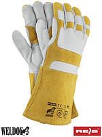 Сварочные перчатки кожаные (краги) REIS (RAWPOL) Польша HONEYBEE WY