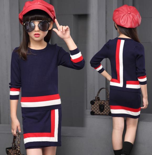 6156884344e407 Стильний, модний костюм для дівчаток, весна / осінь : продажа, цена ...