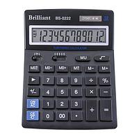 Настольный калькулятор brilliant bs-0222 12 разрядов