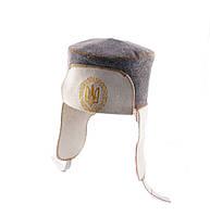 Шапка для сауны Ушанка (комбинированный войлок) ПРО