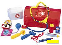 5541297 Набор доктора врача в чемодане 12 предметов 28х14 см Simba