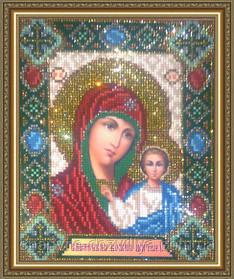 """Набор алмазной вышивки (мозаики) икона """"Богоматерь Казанская"""""""