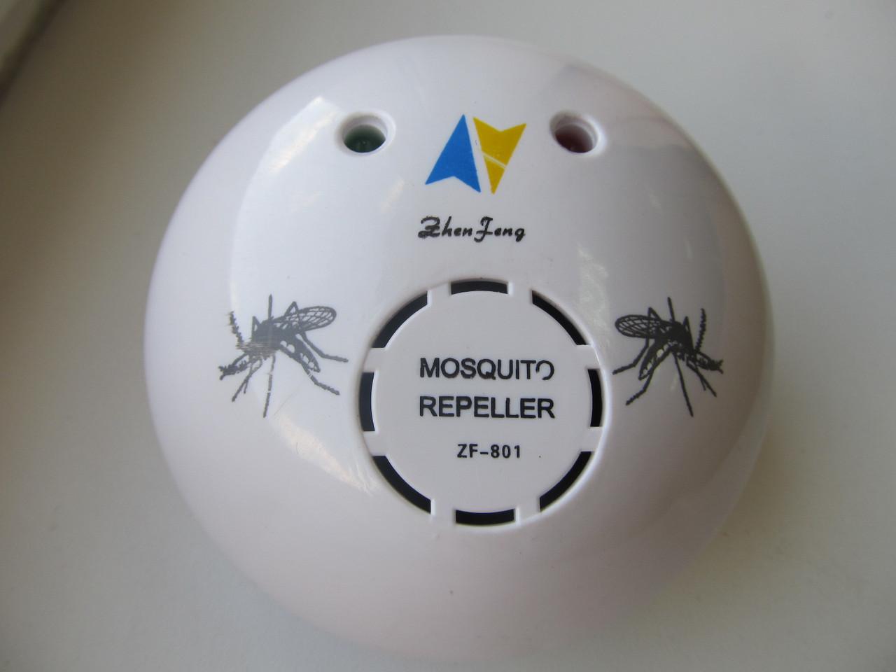 Отпугиватель комаров UltraSonic Mosquito Repeller ZF-801, ультразвуковой