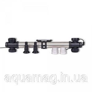 УФ - стерилизатор AquaKing RVS² JUVC- 40 корпус нерж. для пруда, водоема, узв, ставка, озера
