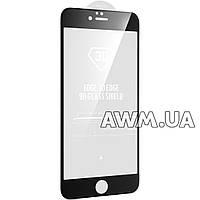 Защитное стекло iPhone 6 Plus 3D AG (черный)