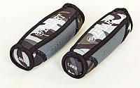 Гантели для фитнеса с мягкими накладками 5730-3: вес 2х1,5кг (общий вес 3кг)