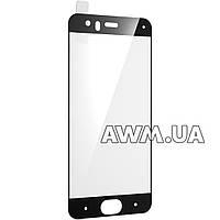 Защитное стеклo на Xiaomi Mi 6 черное глянцевое