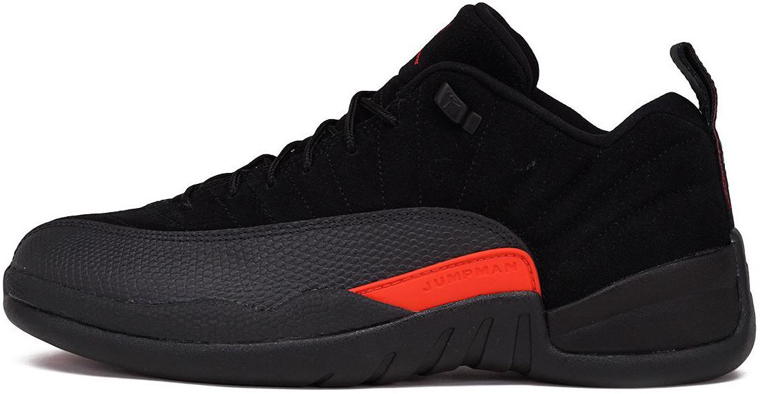 Мужские кроссовки Nike Air Jordan 12 Retro Low Max Orange Black 308 305 003, Найк Аир Джордан 12
