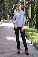 Блузка полоска арт 34-147
