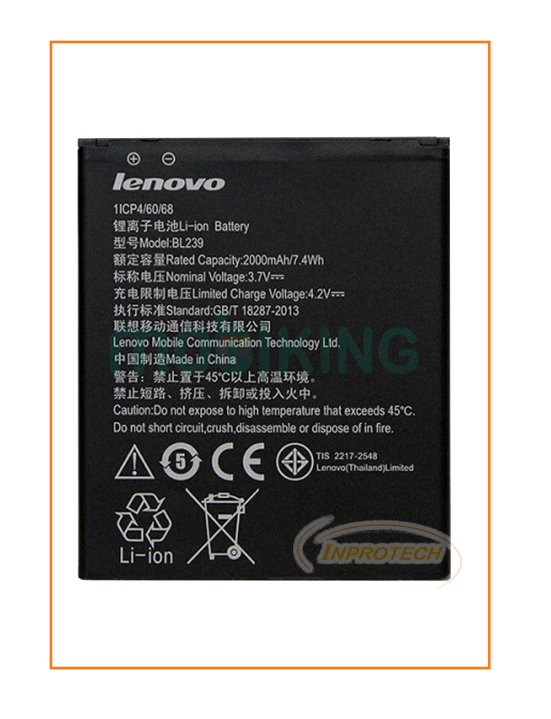 Аккумулятор Lenovo A399 (BL-239) 2000mAh Original