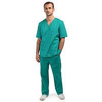 Медицинский костюм мужской Гранит зелёный