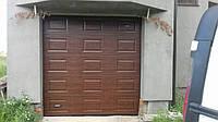 Гаражные секционные ворота автоматические DoorHan