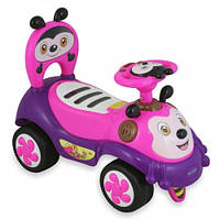 Машинка-каталка Alexis-Babymix 7625 pink