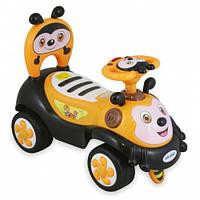 Машинка-каталка Alexis-Babymix 7625 yellow