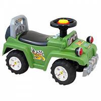 Машинка-каталка Alexis-Babymix HZ-553 green