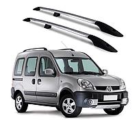 Рейлинги Renault Kangoo 2008-2017 с металлическим креплением
