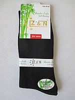 Мужские носки бамбук черного цвета.