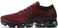 Мужские кроссовки  Nike VaporMax Dark Team Red
