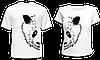 """Парные футболки """"Большая панда"""""""
