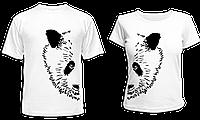 """Парные футболки """"Большая панда"""", фото 1"""