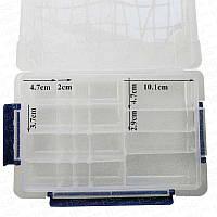 Пластиковый кейс для радиодеталей 20 ячеек BST-R675