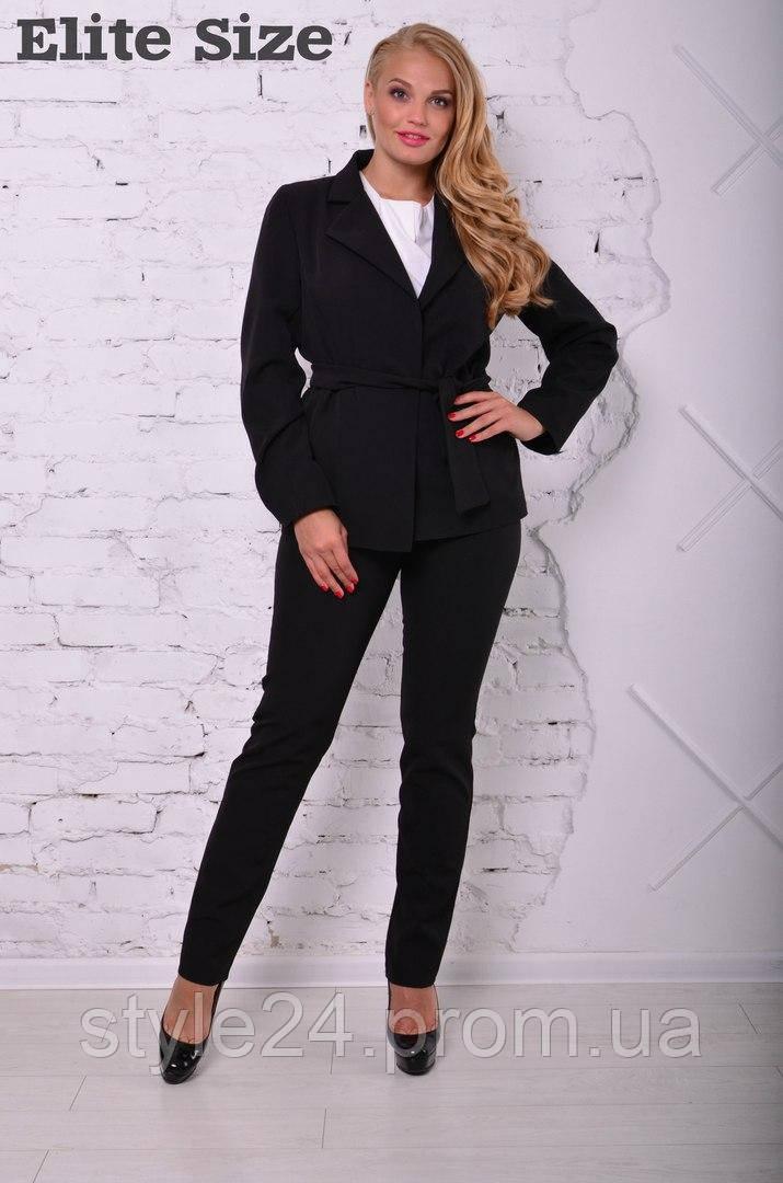 Стильний костюм-тройка жакет + блуза +штани.Р-ри 46-58  продажа ... bf5e257bdb904