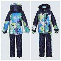 Зимний костюм Пазлы для девочки