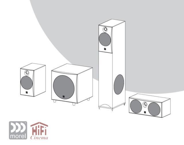 Акустическая система для многоканального домашнего кинотеатра Hi-Fi Home Theater series Morel Solan 5.1 HT System