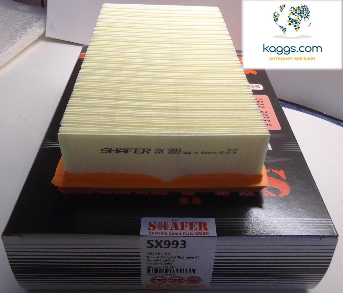 SHÄFER SX993 воздушный фильтр для SUZUKI, DACIA, RENAULT.